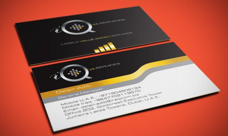 iQ VA Services – Logo Design