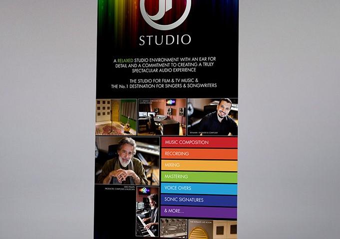JR Studio – Rollup Banner Poster