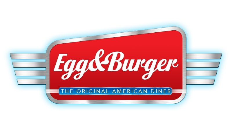 Egg & Burger Logo Design