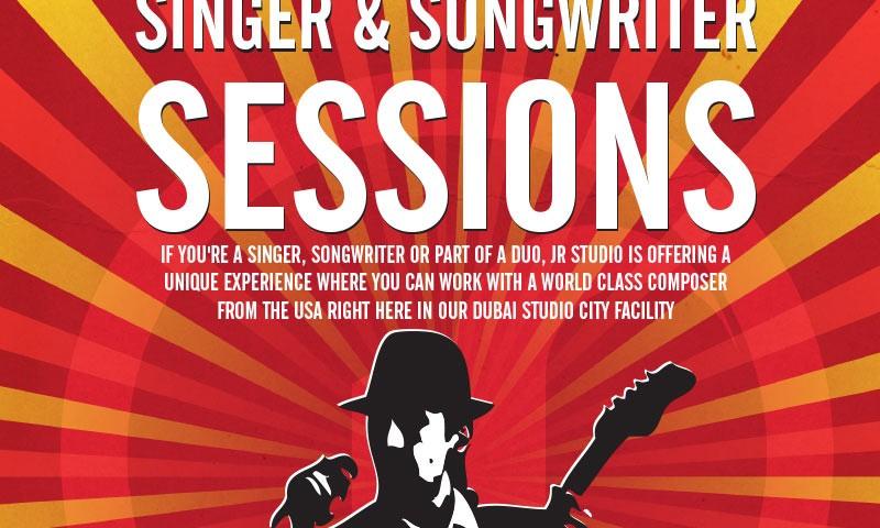 JR Studio Singer-Songwriter Poster